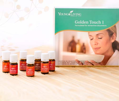 Golden Touch 1 Essential Oil Collection